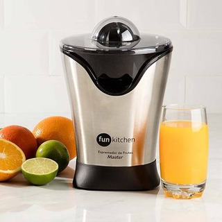 Espremedor De Frutas Master Preto Fun Kitchen 220v