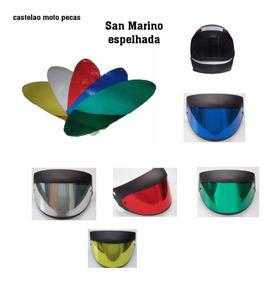 Viseira Capacete Taurus San Marino Espelhada