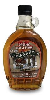 Jarabe De Arce Maple Syrup Amber Bernard 354ml