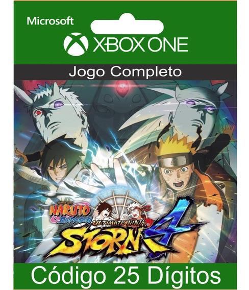 Naruto Shippuden Storm 4 Xbox One Codigo 25 Digitos Em 12x