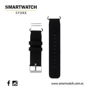 Correa De Silicona Suave 20mm Repuesto Para Smartwatch Q90
