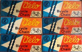 Corrente Velo De Bicicleta Antiga Nova Na Caixa