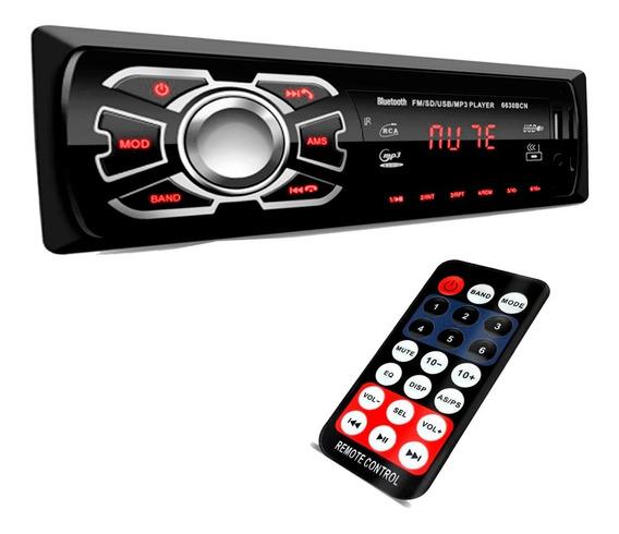 Aparelho Rádio Promoção Mp3 Carro Fm Usb Player Bluetooth