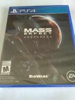 Mass Effect Andromeda Ps4 Nuevo Sellado Envio Rapido