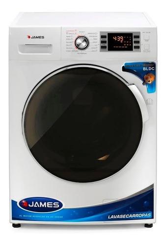 Imagen 1 de 5 de Lavasecarropa James 1016 10kg Digital Inverter Yanett