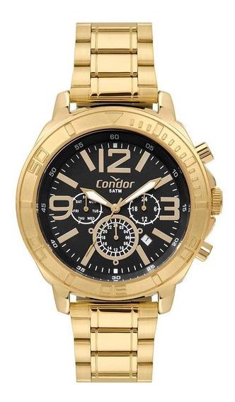 Relógio Condor Civic Masculino Dourado Cojp25ac/t4p