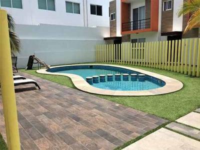 Tu Casa Nueva En La Riviera Veracruzana, Boca Del Río, Ver.