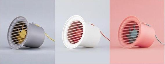 Mini Ventilador De Mesa Usb Baseus Small Horn Desktop Fan