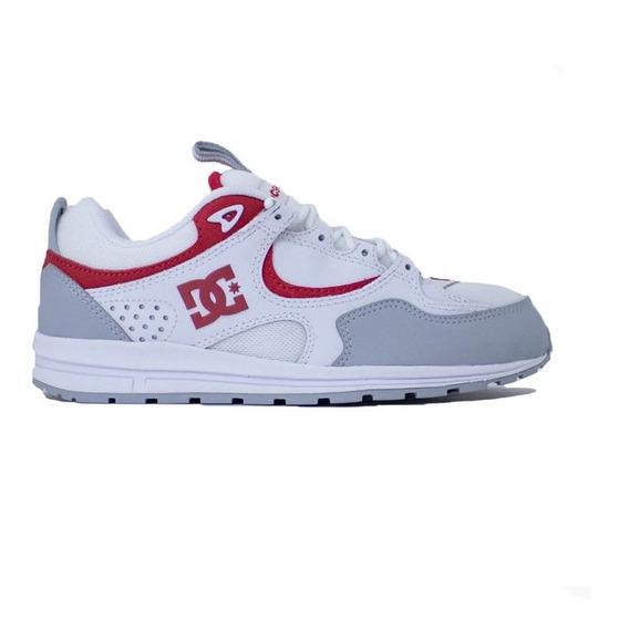 Tênis Dc Shoes Kalis Lite Imp White Grey Red
