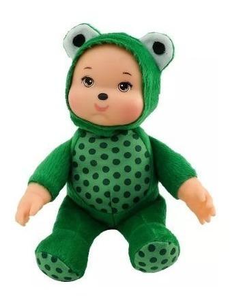Sapinho Amiguinho Da Floresta - Anjo Brinquedos- 28cm
