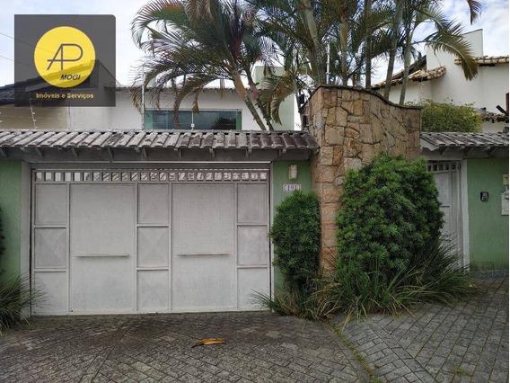 Casa Com 3 Dormitórios À Venda, 300 M² - Vila Oliveira - Mogi Das Cruzes/sp - Ca0061