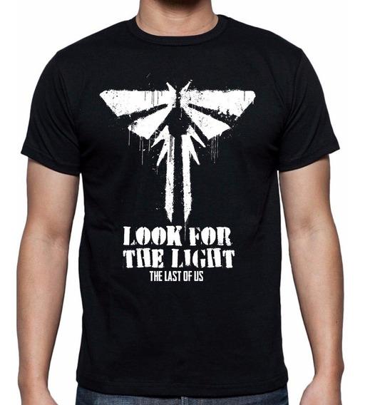 Playera The Last Of Us Luciernagas Fireflies Envío Gratis