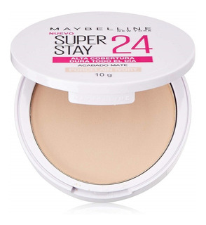 Polvo Compacto Maybelline Superstay 24 Porcelain Ivory X 10