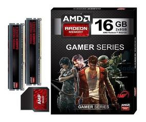 Kit Memoria Amd Radeon Gamer Series 16gb (2 X 8gb) Ddr3 2133
