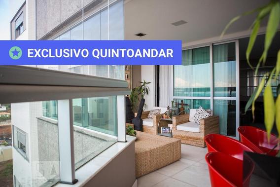 Apartamento No 15º Andar Mobiliado Com 4 Dormitórios E 4 Garagens - Id: 892985804 - 285804