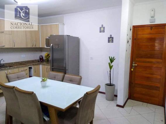 Apartamento Com 2 Dormitórios À Venda, 82 M² Por R$ 360.000 - Vila Alto De Santo André - Santo André/sp - Ap9133