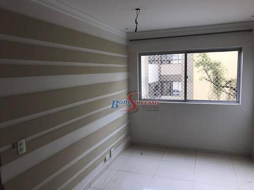 Imagem 1 de 23 de Apartamento Com 3 Dormitórios À Venda, 68 M² Por R$ 350.000,00 - Vila Leonor - Guarulhos/sp - Ap2932