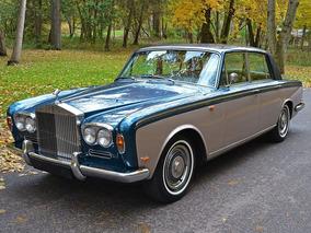 Rolls Royce Silver Shadow 1969 Placa Preta ( Troco Imóvel )