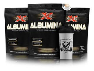 3 Albumina 1kg Xlab Sabores