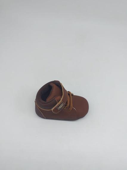 Botinha Masculina Klin (caramelo/chocolate/infantil)