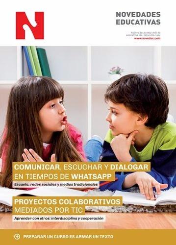 Imagen 1 de 1 de Comunicar, Escuchar Y Dialogar Revista Noveduc Agosto (ne)