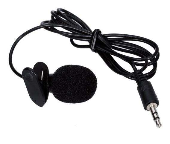 Microfone De Lapela Para Celular Tablet - Frete Gratis