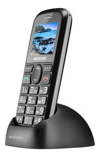 Celular Vita Dual Chip Usb Bluetooth Base Carregadora Preto