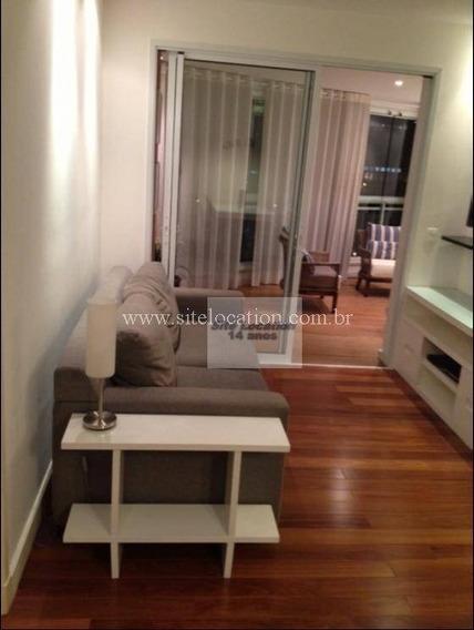 96548 * Lindo Apartamento Totalmente Mobiliado Com 50m² - Ap1234