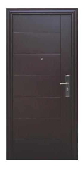 Puerta De Seguridad Xe Dublín S1 Apertura Izq. Acero 100% Ch