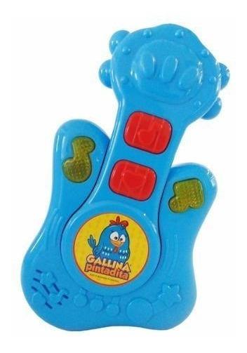 Juguete Musical Gp001 Baby Guitarra Gallina Pintadita