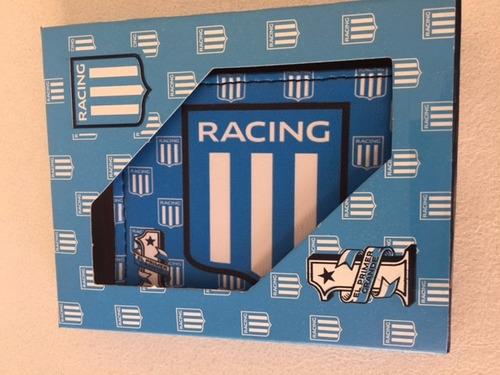 Billetera Con Caja Racing Club