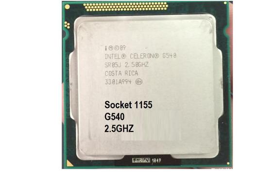 Processador Intel® Celeron® G540 2.50ghz 1155 2ª Geração