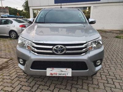 Toyota Hilux Cd Srv 2.8 Diesel Ún. Dono Garantia Fábr