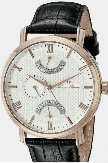 Relógio Lucien Piccard Lp 10340 02s Ra Dual Time Masculino