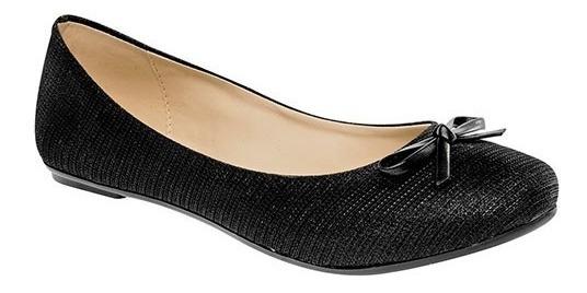 Zapato De Piso Dama Sexy Girl 83 Negro 22-26 U66016 T2