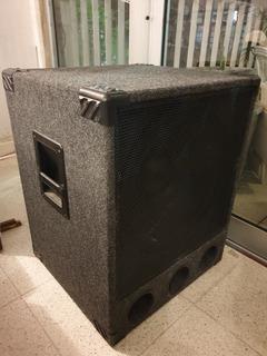 Caja Y Subwoofer 18 Pulgadas. Wh1880 Audiosonic 400rms