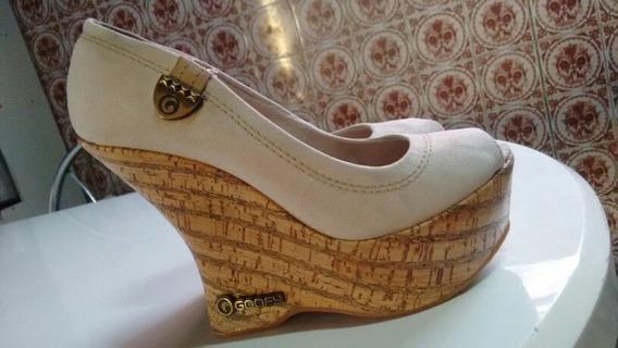 Sapato Alto Feminino Dá Marca Goofy