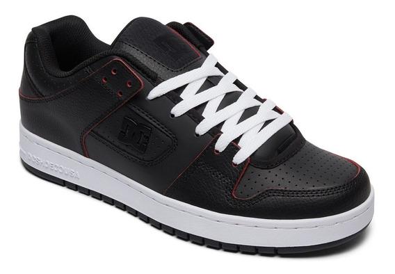 Zapatillas Dc Mod Manteca Se Negro Cuero!!! Coleccion 2019