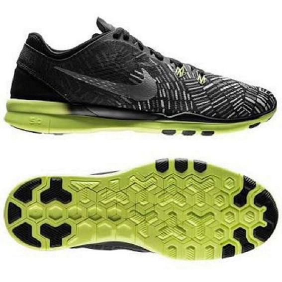 Tênis Nike Free 5.0 Tr Fit Print Corrida Original