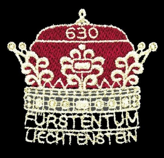 # Mcn # 300 Anos Liechtenstein 2019 - Selo Bordado Mint