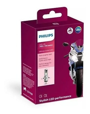 Lâmpada De Led Ultinon Philips Hs1 / H4