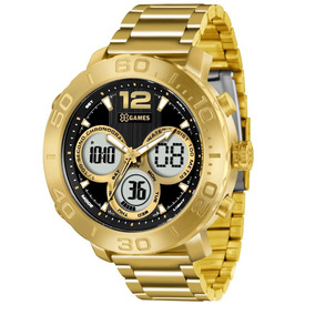 Relógio Masculino X-games Anadigi Xmgsa002 P2kx Dourado