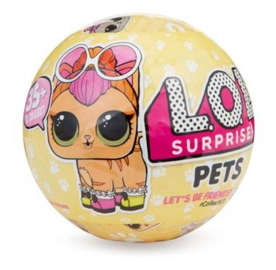 Boneca Lol Pets Pet Surpresa Série 3 100% Original Com Areia