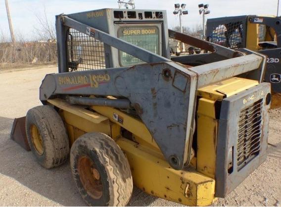 08) Minicargador New Holland Ls190 2001 C/sistema Hidraulico