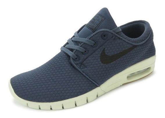 Tênis Nike Sb Stefan Janoski Max Azul - 631303-402