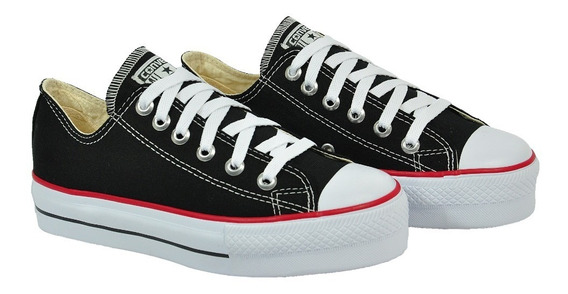 Tênis All Star Converse Ct0495 Plataforma Preto