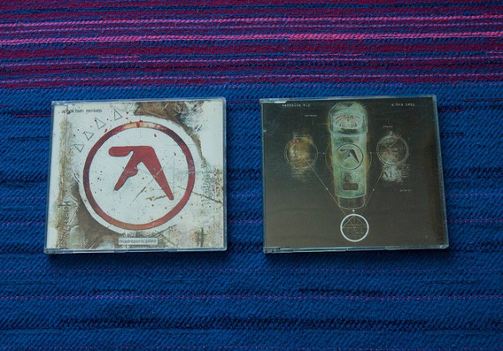 Aphex Twin Madreporic Plate & Aphex Twin Ventolin Singles