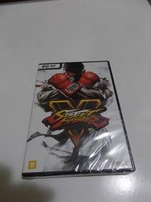 Jogo Mídia Física Street Fighter V Original Pc Computador