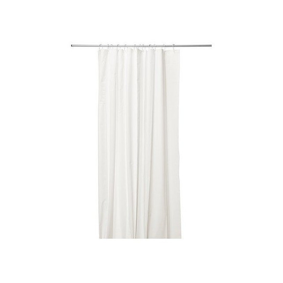 Ikea Eggegrund Shower Curtain, White