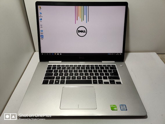 Notebook Dell 7580 I5 8ºger 8gb 256ssd+1tb Geforce Mx150